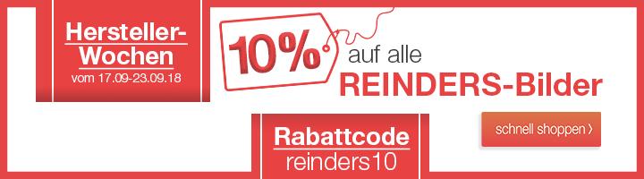 Reinders Wandbilder - 10% Aktion