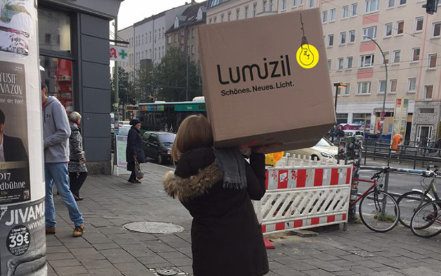 Schneller Versand mit Lumizil
