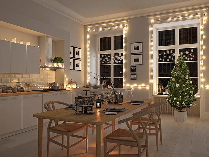 Weihnachtsbeleuchtung Anbringen.Weihnachtslampen Led Weihnachtsbeleuchtung Außen Innen Lumizil