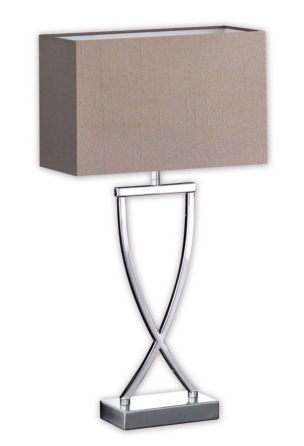 Moderne Nachttischlampe Leuchte Tischleuchte Lampe Tischlampe cappuccino gold