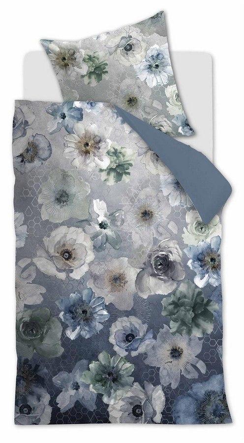 beddinghouse composer bettw sche blau grau 155x220 kaufen lumizil. Black Bedroom Furniture Sets. Home Design Ideas